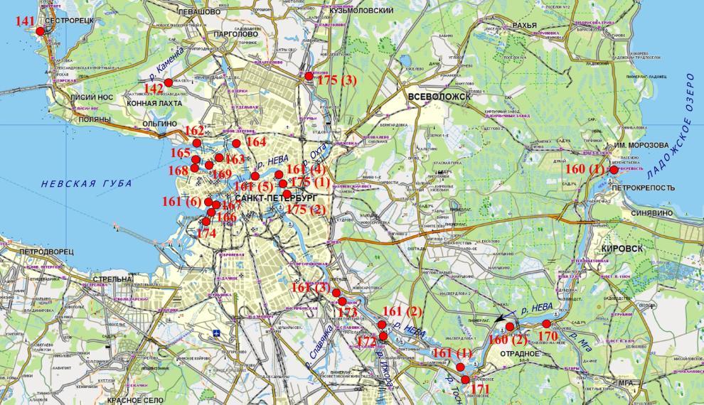 Мониторинг водных объектов на территории Санкт-Петербурга и ... 6a67b7a36b2